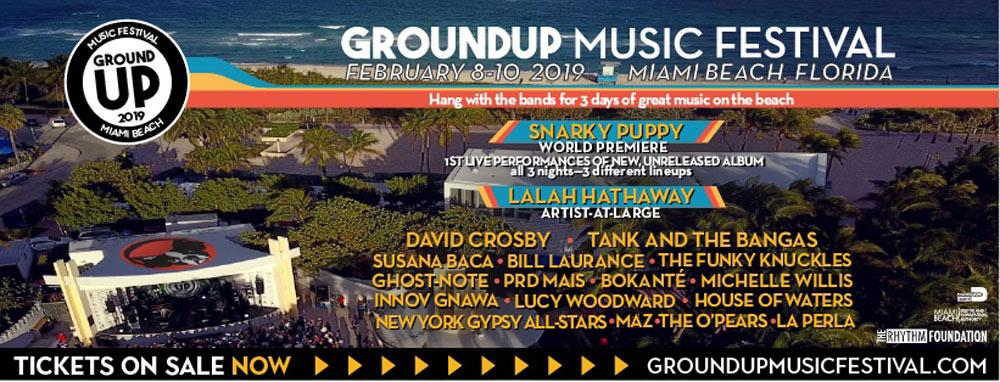 2019 groundup music festival lineup