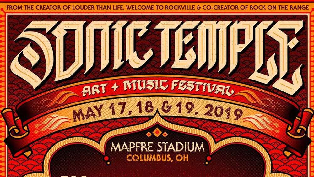 2019 sonic temple music festival