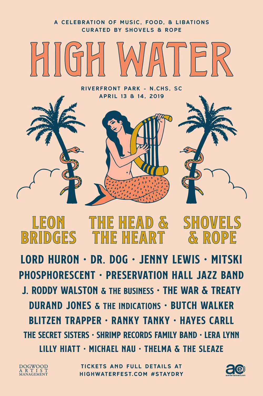 high water music festival 2019 lineup